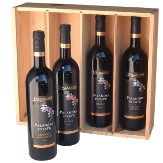 Palandri Estate Packaging design