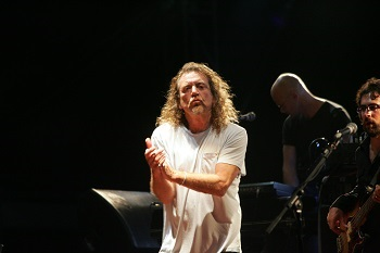 BUDAPEST - AUG 9: Robert Plant, former frontman for Led Zeppelin