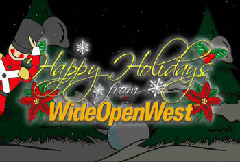 WideOpenWest Holiday 2001 Ad