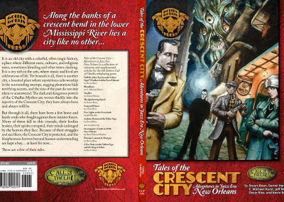 """""""Tales of the Crescent City"""" RPG Supplement"""