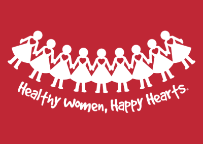 """Paper Dolls"" Women's Heart Health Awareness Design"