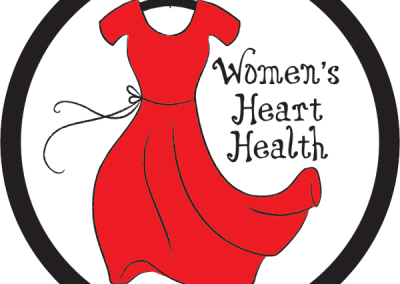 """Women's Heart Health"" Car Magnet Design"