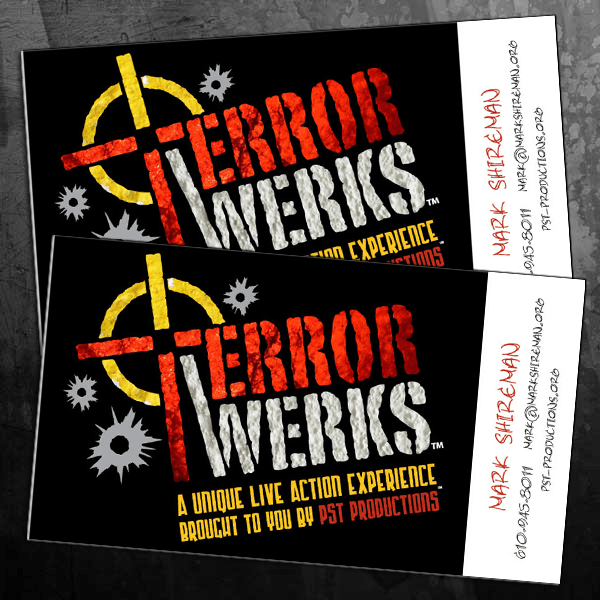 TerrorWerks Business Cards