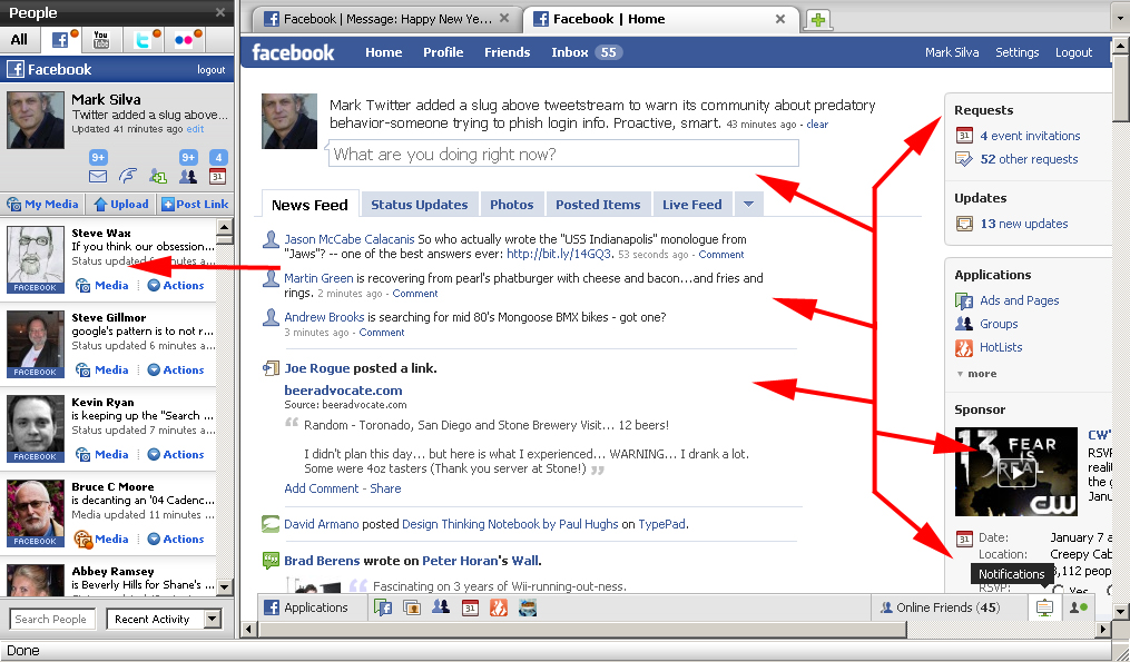 How Facebook could have responded to Phishing scam.