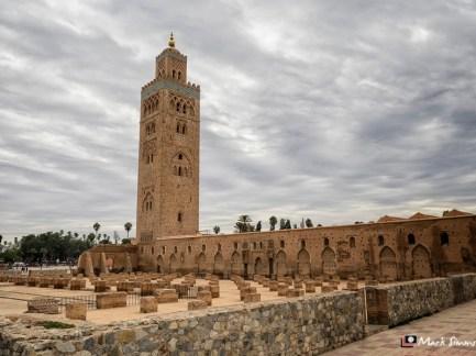 Koutoubia Mosque, Marrakech, Morocco, North Africa
