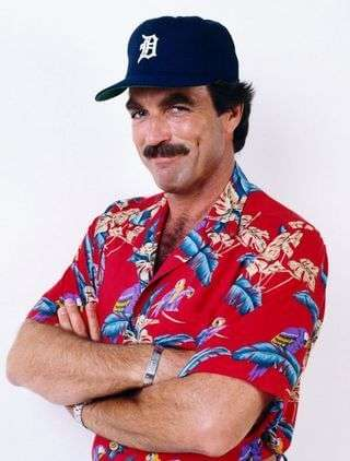 Tom Selleck - original hipster?