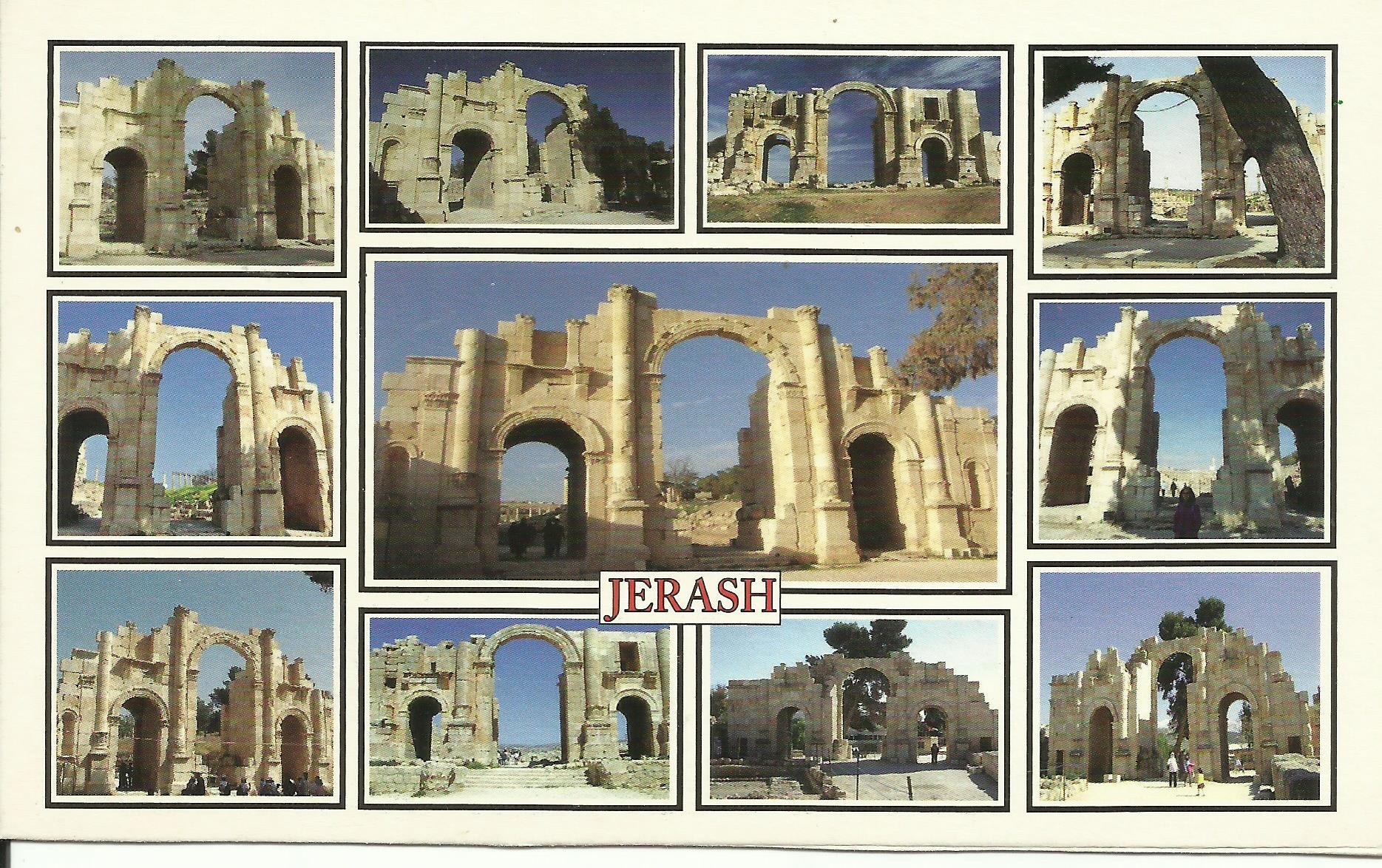 Jerash, Jordan: Roman Ruins of Gerasa