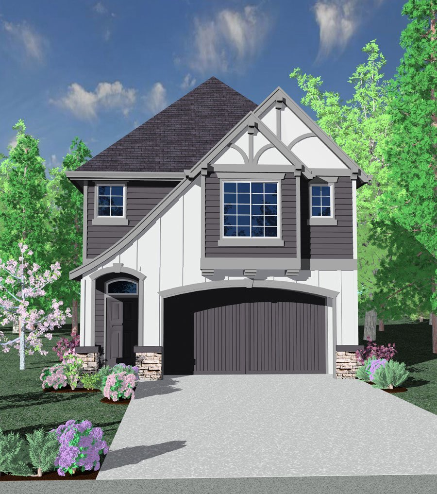 1728 House Plan | Cottage House Plans, French Country ...