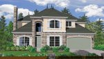 Front View House Plan