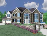 M-5364 M-3564 French Country House Plan Front Elevation