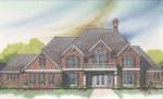 front rendering