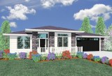 Front House Plan