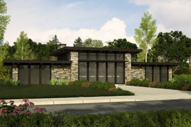 Modern Contemporary House Plans   Contemporary Home Designs with Photos Mark Stewart Contemporary House Plan Black Diamond