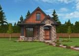 M-640-A Mark Stewart cottage house plan