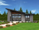 Mercury Shed Roof House Plan
