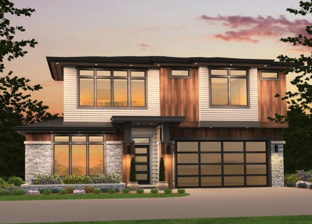 Westlake 4 contemporary house plan