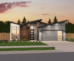 Omaha Modern Shed Roof House Plan