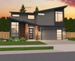 Maxfield two story house plan