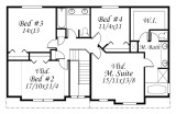 Shallow Two Story House Plan