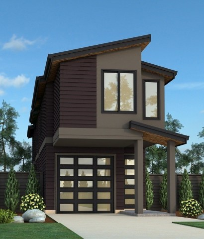 Florida Narrow House Plans