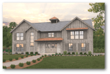 Township Modern Barn House Plan