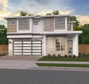 modern house plan with hip roof Everest