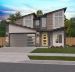 Open Modern House Plan Brookside Teton