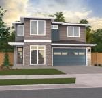 Riverside Modern Prairie House Plan