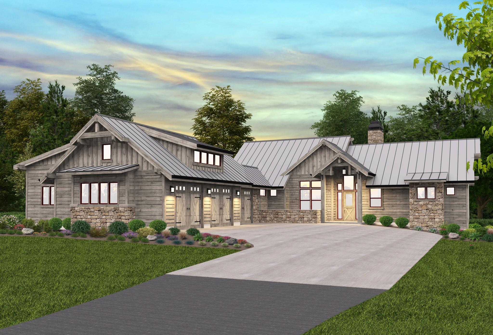 Adirondack Lodge House Plan Modern Lodge Home Design Amp Floor Plan