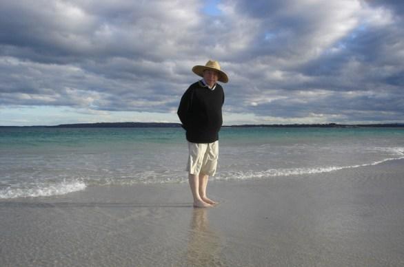 Mark on Calala Beach