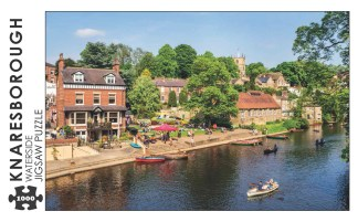 Knaresborough Waterside 1000 Piece Jigsaw Puzzle