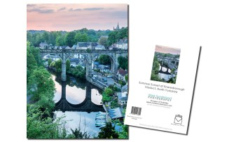 Knaresborough Viaduct at Sunset Card