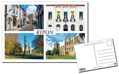 Ripon Multiview Postcard