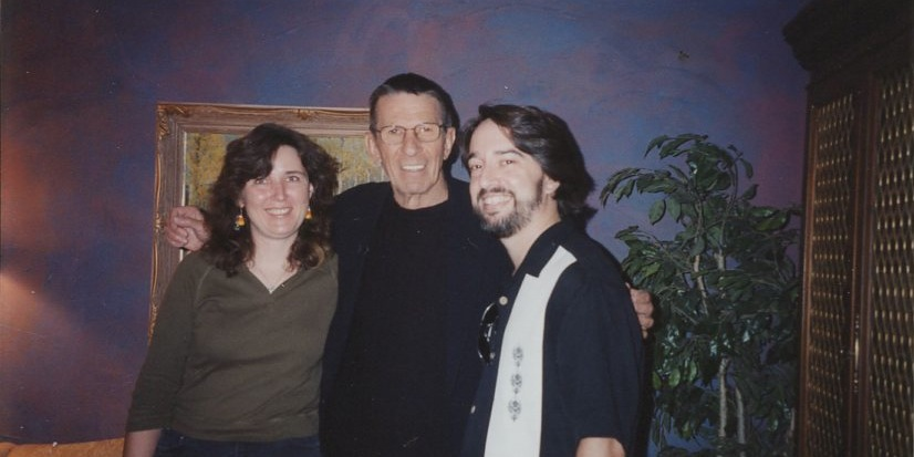 Erin and I get to meet Leonard Nimoy. YIPPEEE!