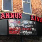 Jannus Live sign in downtown St. Petersburg