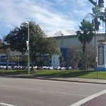 Tropicana Field in St Petersburg is home of the Tampa Bay Rays