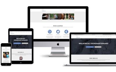 Interactieve website voor DierenartsPaard