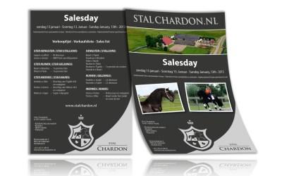 Advertentie Salesday Stal Chardon
