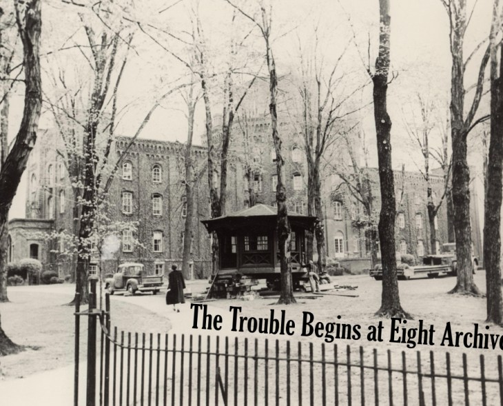 Trouble Begins at Eight Archives