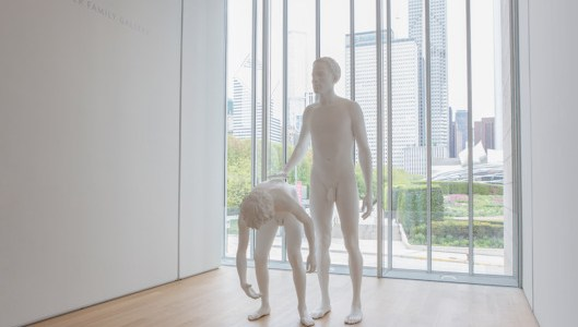 Art Institute of Chicago/Charles Ray Courtesy of Matthew Marks Gallery