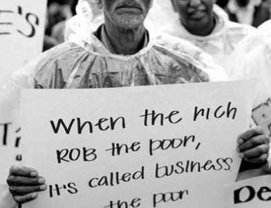the apocryphal twain when the rich rob the poor it s called