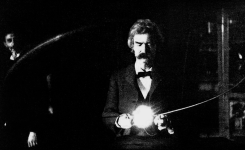 The Shocking Truth About Mark Twain's Fascination With Electricity