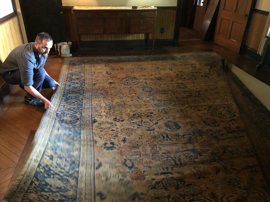 Quarry Farm's new rug