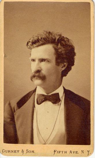 1869, Mark Twain