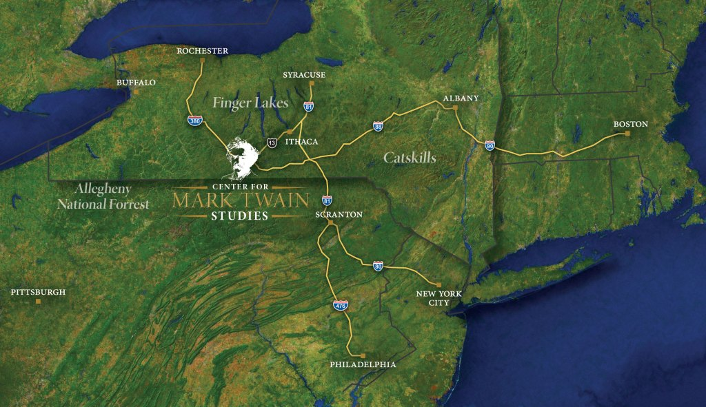 Twain Map