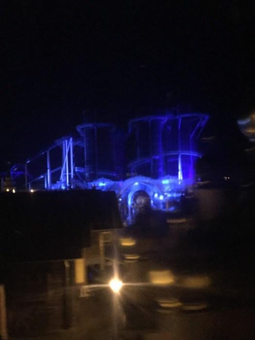 Blue Fire Rollercoaster Rust 2016