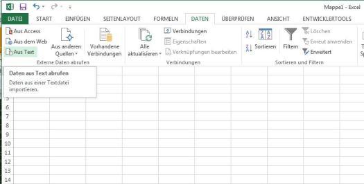 Mit MS Excel lassen sich Logfiles gut importieren.