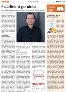 TEILZEITREVUE Markus Binder Neues Volksblatt