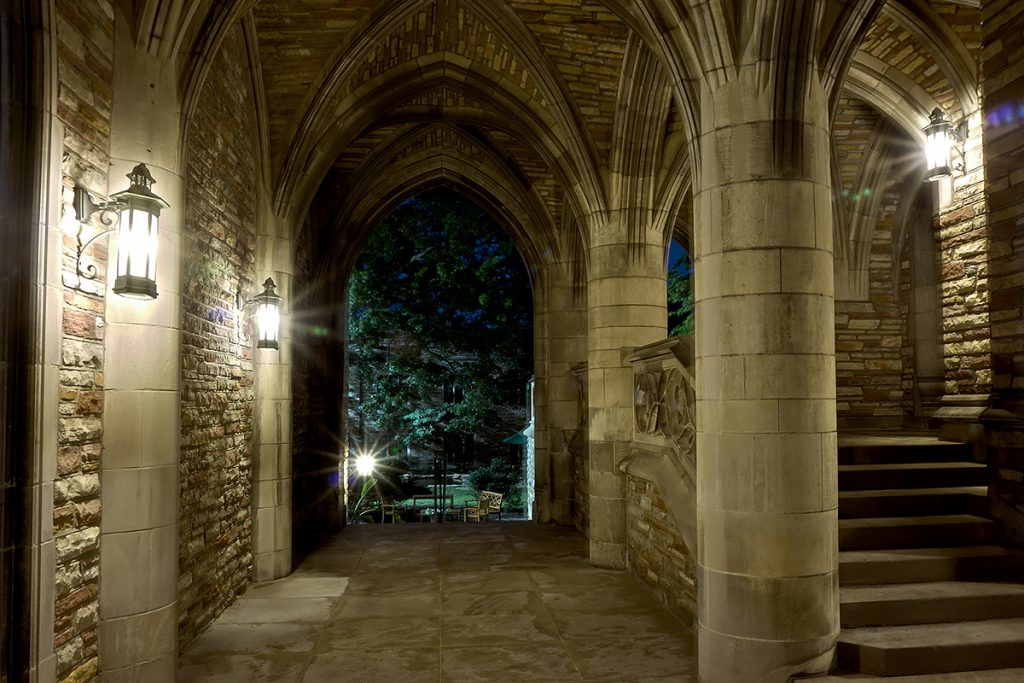 Luther Tower at Concordia Seminary, St. Louis. Photographed by Mark Polege.