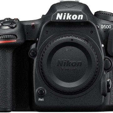 Nikon D500 Digitale Spiegelreflexkamera (20.9 Megapixel, 8 cm (3,2 Zoll) LCD-Touchmonitor, 4K-UHD-Video) nur Gehäuse schwarz